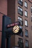 L'Irlandais chronomètre des sièges sociaux de journal Photographie stock