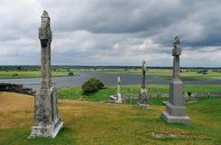 l'Irlande/Clonmacnoise Photo stock