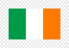 L'Irlande - drapeau national illustration stock