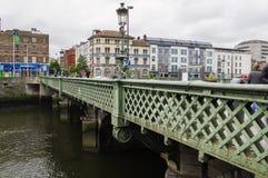 l'irlande dublin Rivière Liffey Image stock
