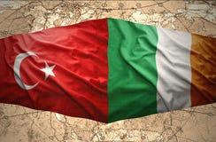 L'Irlande et la Turquie Photos libres de droits