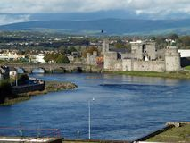 l'Irlande, limerick photographie stock