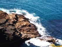 L'Irlande rencontre l'Océan atlantique Image stock