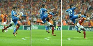 L'Isco de Real Madrid - Galatasaray FC Images libres de droits