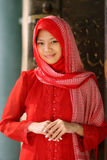 l'Islam musulman de fille Photo stock