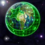L'islamizzazione del mondo Concetto Immagini Stock