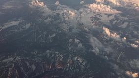 L'Islanda da un aeroplano