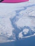 L'Islanda dal cielo Fotografia Stock Libera da Diritti