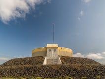 L'Islanda di costruzione rotonda Fotografia Stock