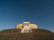 L'Islanda di costruzione rotonda Immagine Stock