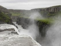 L'Islanda - gullfoss Fotografia Stock Libera da Diritti