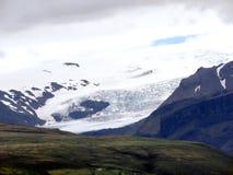 L'Islanda il paesaggio con il ghiacciaio 2017 di Skaftafell Immagini Stock Libere da Diritti