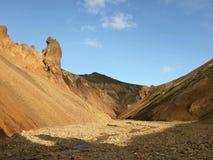 L'Islanda - Landmannalaugar Fotografie Stock Libere da Diritti