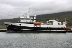 L'Islanda - nave di pesca Fotografia Stock