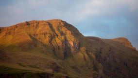 L'Islanda, scogliera dell'alta montagna Bello paesaggio Fotografie Stock Libere da Diritti