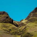 L'Islanda, scogliera dell'alta montagna Bello paesaggio Fotografia Stock