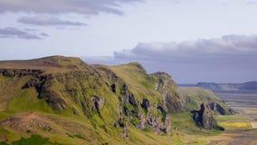 L'Islanda, scogliera dell'alta montagna Bello paesaggio Immagini Stock