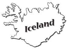 L'Islanda sul programma Fotografia Stock Libera da Diritti