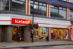 l'islande Photographie stock