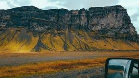 L'Islande - avant et vue arrière photo libre de droits
