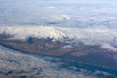 l'Islande de ci-avant Photo libre de droits