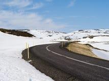 L'Islande du nord Photos libres de droits