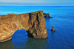 L'Islande du sud en juillet Photographie stock libre de droits