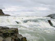 L'Islande Gullfoss Images libres de droits