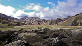 l'Islande Laugavegur Photo libre de droits