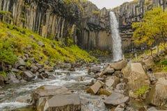 l'Islande - le stationnement national de Skaftafell image stock