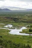 l'Islande - le stationnement national de Thingvellir - cercle d'or Photos libres de droits