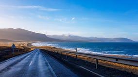 L'Islande - voyage par la route le long de la côte images stock