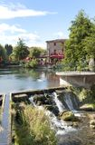 L'Isle sur La Sorgue. Little town in the Vaucluse, South of France Royalty Free Stock Photo