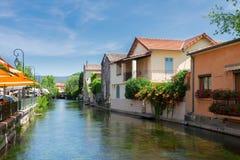 L'Isle-sur-la-Sorgue, França, Provence foto de stock