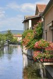 L`Isle sur la Sorgue in France stock images