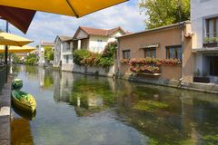 L`Isle sur la Sorgue in France royalty free stock image