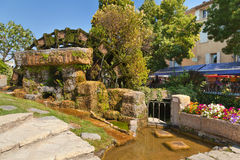 L'isle sur la Sorgue, Provence, France. Royalty Free Stock Images
