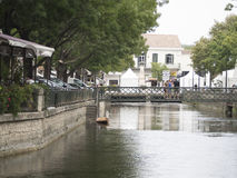 L'Isle-sur-la-Sorgue. Is a town and commune on the Sorgue river in southeastern France Stock Photography