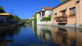 L'Isle-sur-la-Sorgue  Stock Photo