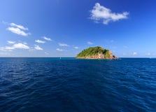 L'isola Fotografie Stock Libere da Diritti