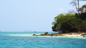 L'isola Fotografia Stock