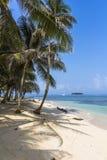 L'isola dei Caraibi piccola d'esplorazione, San Blas Islands Fotografie Stock