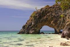 L'isola del foro Fotografie Stock Libere da Diritti