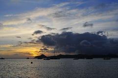 L'isola del Nevis, i Caraibi Fotografia Stock