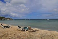 L'isola del Nevis, i Caraibi Fotografie Stock Libere da Diritti