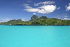 L'isola del Pacifico Bora Bora fotografie stock libere da diritti