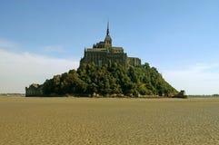 L'isola del Saint Michel di Mont Immagine Stock Libera da Diritti