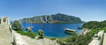 L'isola dell'Egeo Fotografia Stock