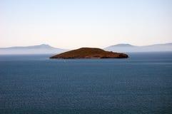 L'isola deserta fotografia stock