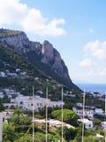 L'isola di Capri Fotografia Stock Libera da Diritti
